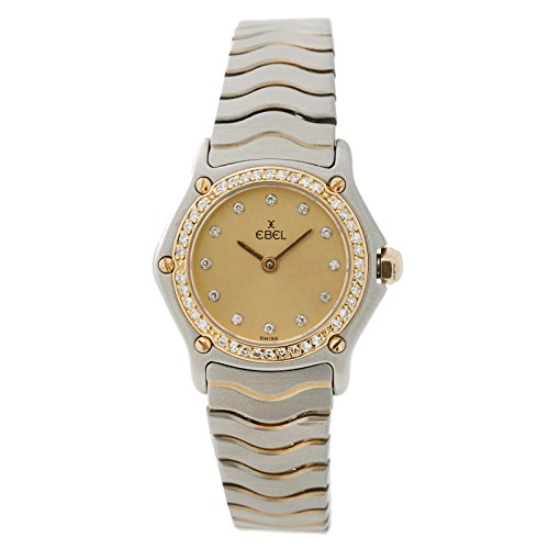Ebel Wave Watch - Ebel Wave Quartz Female Watch 7323 (Certified Pre-Owned)