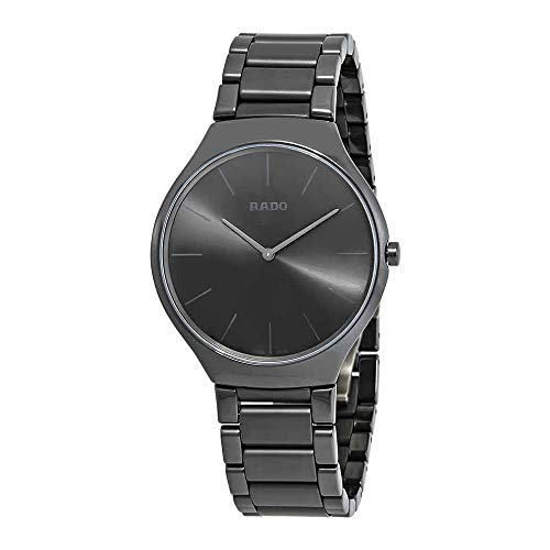 Rado True Thinline Black Dial Men's Watch R27262102