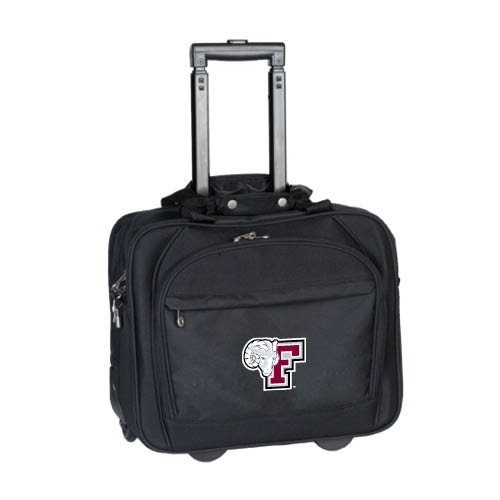 Fordham Embassy Plus Rolling Black Compu Brief 'F w/Ram Head' by CollegeFanGear