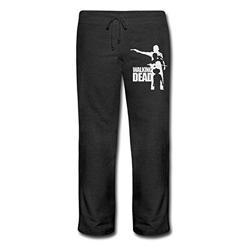 PGxln Women's Walking Dead Running Pants Color Black Size L