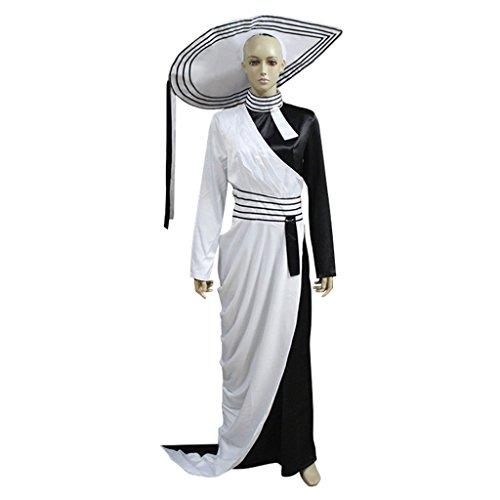 CosplayDiy Women's Elegant Civil War Dress with Hat XXL (Colonial Gown Costume)