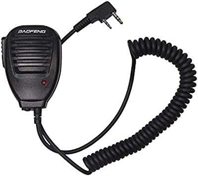BAOFENG Hand Hold Speaker MIC for Two Way Radio Walkie Talkie
