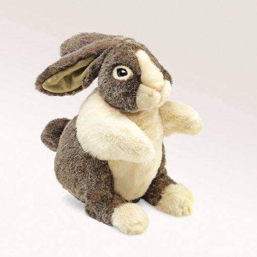 Folkmanis Dutch Rabbit Hand Puppet for sale  Delivered anywhere in USA