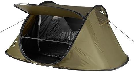 Tienda de campaña para 2 Seconds XL Quechua camping: Amazon ...