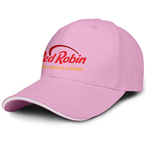 Unisex Mens Red Robin Gourmet Burgers Brews Restaurant Hats Baseball Hat Adjustable Outdoor Flat Cap