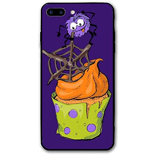 iPhone 8 Plus / 7 Plus case Hard PC Cover for Both iPhone 7 Plus & 8 Plus Halloween Cupcake]()