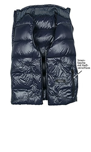 LAGERFELD Herren Jacke Jack Mikrofaser modisches Langarmoberteil Unifarben, Größe: 54, Farbe: Blau