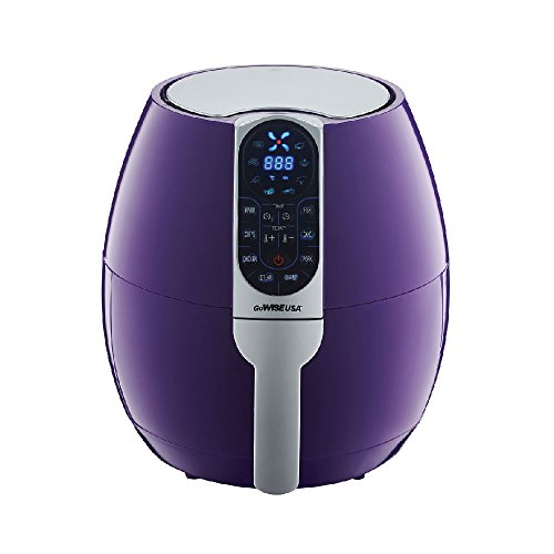 GoWISE USA 3.7-Quart Air Fryer (Plum)
