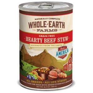 Whole Earth Beef Stew 12/12oz