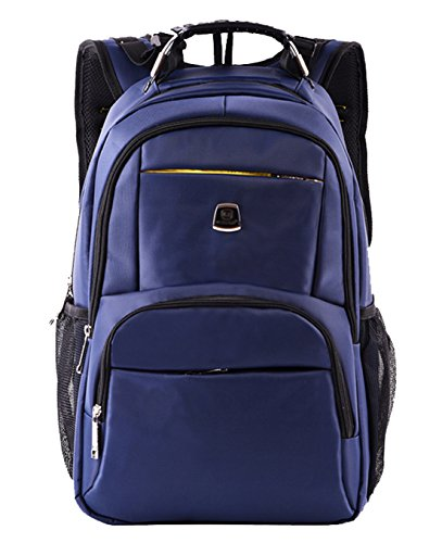 Seaoeey Shoulder Bag Multifunctional Leisure 19 Inch Computer Backpack 1518 Blue