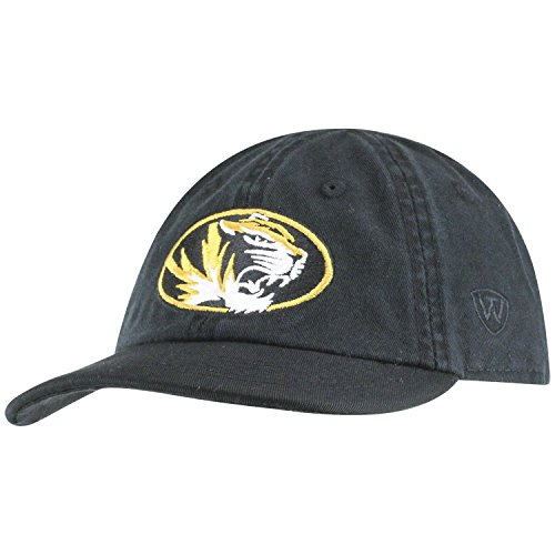 Top of the World Missouri Tigers Infant Hat Icon, Black, Adjustable