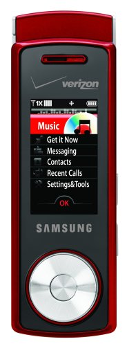 Samsung Juke (Samsung Juke Phone, Red (Verizon Wireless))