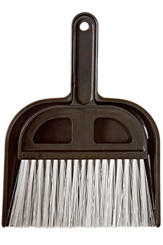 Stiff Broom Black (Detailer's Choice 4B320 Whisk Broom and Dust Pan)