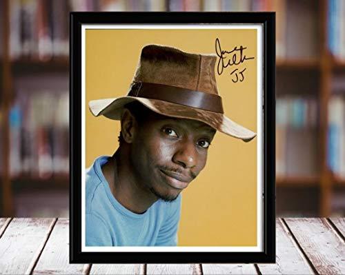 Jimmy Walker Kid Dynomite Autograph Replica Print - 5x7 Desktop Framed Print - Portrait