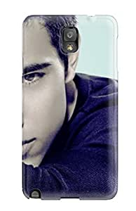 Galaxy Note 3 Case Cover Taylor Lautner Headshot Celebritiess Case - Eco-friendly Packaging