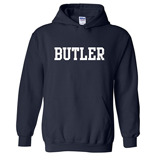 Butler Bulldogs Basic Block Hoodie - Medium - Navy