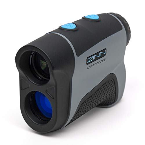 Zinn Optics TS600 Golf Rangefinder 600 Yard Laser Range Finder with Target Sensor