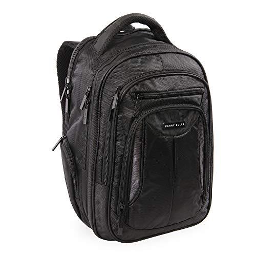 41M%2BMMEb OL - Perry Ellis M160 Business Laptop Backpack, Black