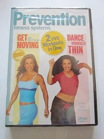 prevention fitness systems 2 dvd workouts in one (Get Moving, Dance Yourself Thin) - Prevention Fitness Systems