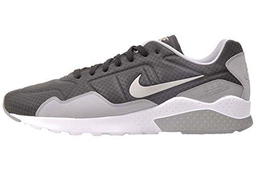 NIKE Mens Air Zoom Pegasus 92 Premium Casual Shoes Black 844654-003 Black / Metallic Silver - Wolf - Grey MzdE5pyN