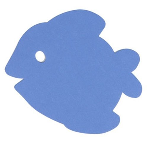 Teaching Tree Paper Cut-Outs - Blue Fish - 32 Count ()