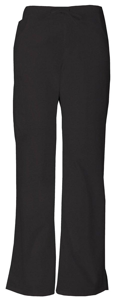 Dickies Women's Mid Rise Drawstring Cargo Pant_Black_XX-Large,86206