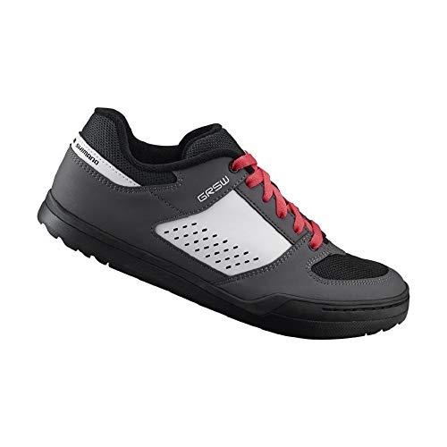 SHIMANO SH-GR500 LSG Series Enduro, Trail, Downhill Cycling Flat Pedal Women's Bicycle Shoes, Gray, 38