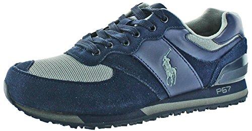 Polo Ralph Lauren Slaton Mens Moda Sneakers Scarpe Navy / Midnight