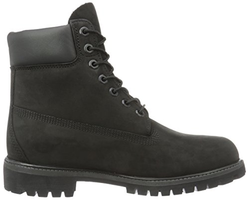 6in premium homme Nubuck Noir boot Timberland Boots fvq8xxw