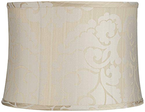 Ostend Cream Softback Drum Lamp Shade 13x14x10 (Spider) - Springcrest
