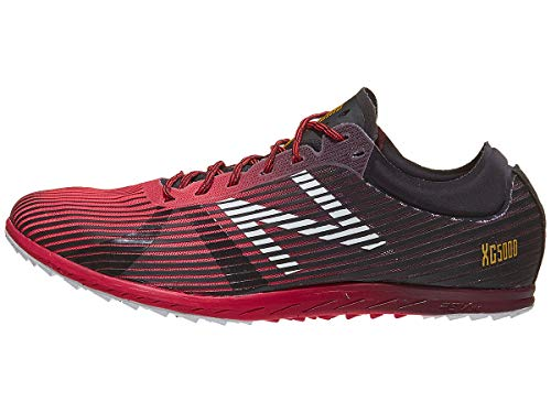 New Balance Men's 5K V4 Cross Country Running Shoe, Bright Cherry, 10 D US