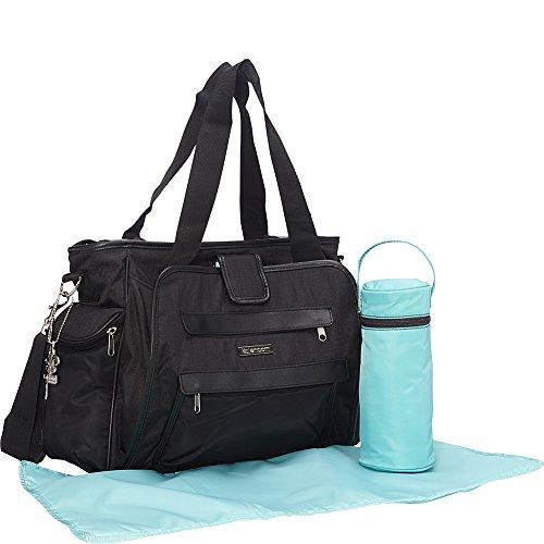 Kalencom Nola Tote Diaper Bag (Navy Feathers) by Kalencom (Image #3)
