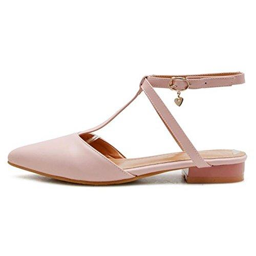 Bas Femmes Pink TAOFFEN Chaussures Talons UtqdaOwqWn