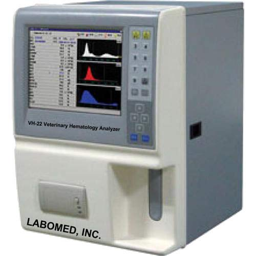 Labomed VH-22 Veterinary Auto Hematology Analyzer, 19 Parameters and 3 Histograms