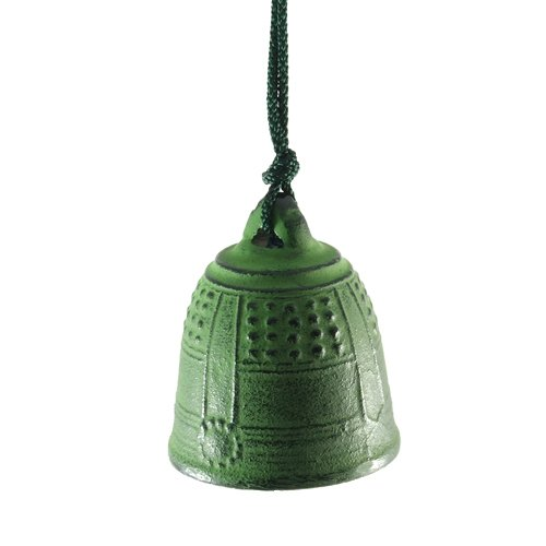 Wind Bell Japanese Cast Iron Windchime – Temple Bell in Green Review