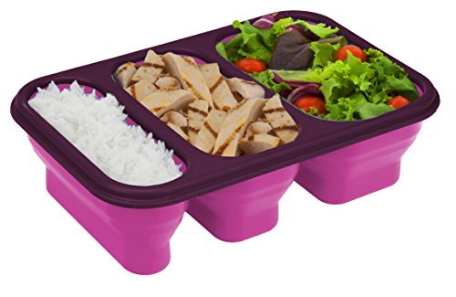 Portion Pack Kit - Smart Planet Portion Perfect Meal Kit On The Go, 36 oz, Pink