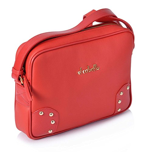 body Bag Size Cross Red 974 1023 El Caballo Women's One wpg44P