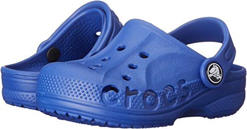 Crocs Boys Baya Kids Clog, Cerulean Blue, 2 M Us Little Kid