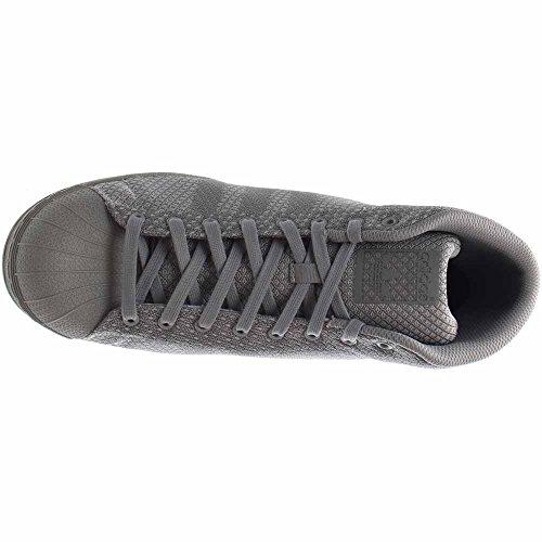 Adidas Pro Modell Veve Menn Rund Tå Syntetiske Joggesko Grå