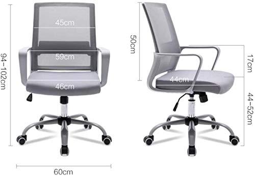 Kontor svängbar stol, verkställande dator skrivbord nät stol chef stol justerbara armstöd lyft funktion studie arbete uppgift knästol