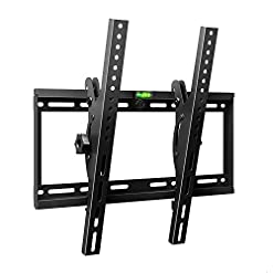 Famgizmo Ultra Slim Tilt TV Wall Bracket Mount – For 23-55 Inch LED LCD 3D Plasma Flat & Curved Screen Televisions…