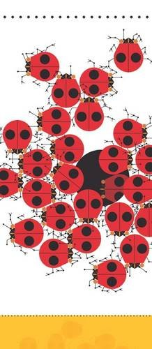 Price comparison product image Charley Harper: Ladybugs Notepad [With Self-Adhesive Magnet]