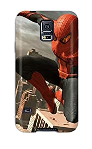 Unique Design Galaxy S5 Durable Tpu Case Cover The Amazing Spider-man 18
