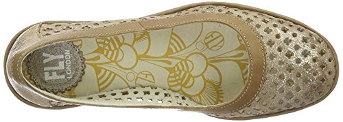 Cu as Camel P500733005 London Luna Mujer Fly Plateado de 007 Sandalias 1qIFRxnnwX