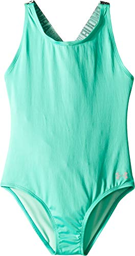 Under Armour Big Girls' Racer One Piece Swimsuit, Mosaic S191, ()