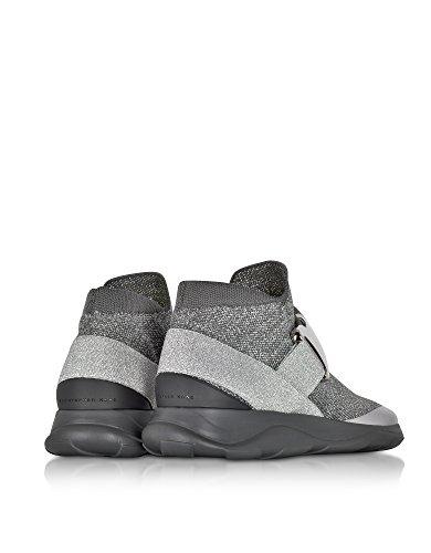 Slip On Sneakers Donna Grigio Kane Christopher 477116u60541214 Tessuto wqaRx