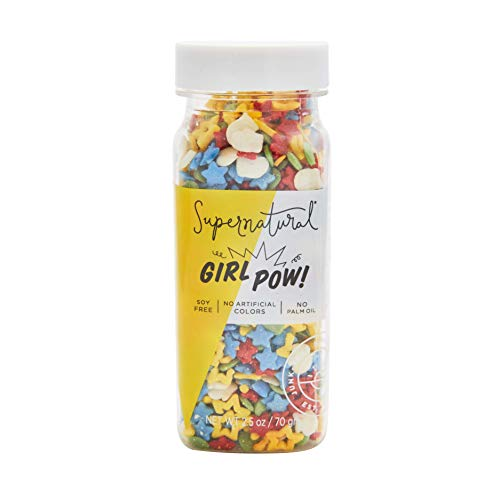 Supernatural Girl Pow Rainbow Sprinkles