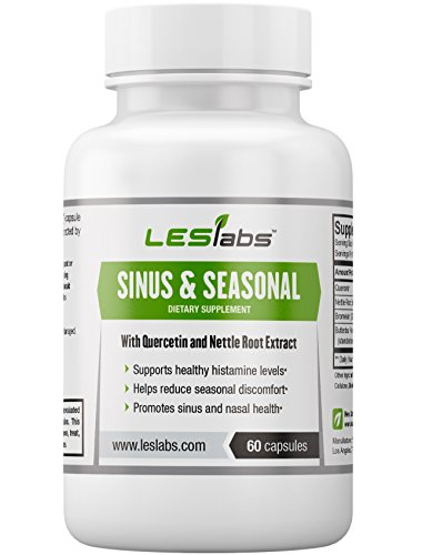 Sinus Seasonal 60 Vegetarian Capsules By Les Labs: Amazon.com: Probiotic 12