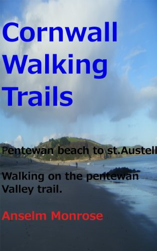 Cornwall walking trails; Pentewan beach to St.Austell. Walking on the pentewan valley trail,A picture guide of the route