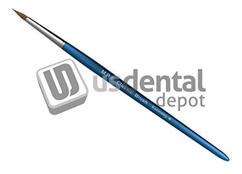 MPF - Classic Kolinsky Ceramic Brush #4 Mfg # 105-0004 1050004 122971 Us Dental Depot
